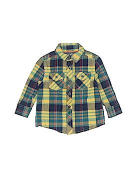 Joe Fresh Long Sleeve Button-Down Shirt Size 1