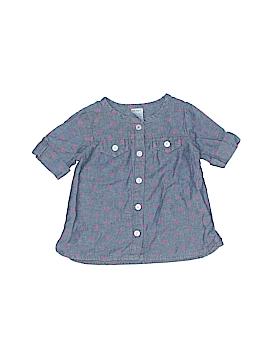 Carter's Short Sleeve Button-Down Shirt Size 9