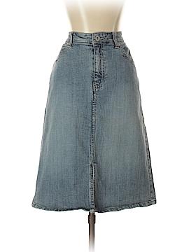 Chico's Denim Skirt Size Sm (0)