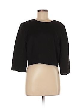 Carmen Carmen Marc Valvo Long Sleeve Blouse Size 8
