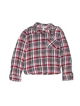 Monteau Girl Long Sleeve Blouse Size 7/8