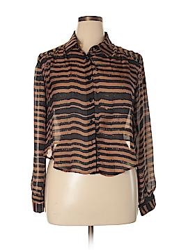 DV by Dolce Vita Long Sleeve Blouse Size L