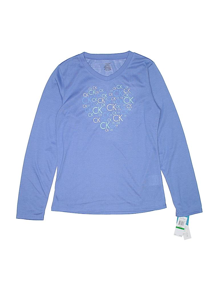 Calvin Klein Girls Long Sleeve T-Shirt Size 14