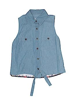 Bongo Sleeveless Button-Down Shirt Size S (Kids)