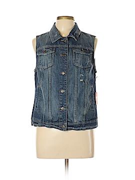 Mossimo Supply Co. Denim Vest Size XL