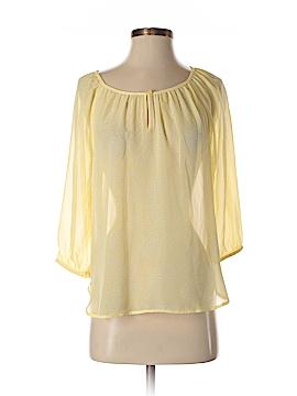 Ann Taylor Factory 3/4 Sleeve Blouse Size 0 (Petite)