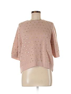 Trina Turk Women Wool Pullover Sweater Size M