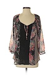 Cynthia Rowley Women Long Sleeve Blouse Size S