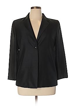 Josephine Chaus Silk Blazer Size 14