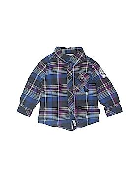 Mexx Long Sleeve Button-Down Shirt Size 9-12 mo
