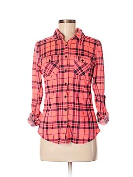 Rue21 Long Sleeve Button-Down Shirt Size M