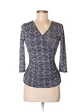 Classiques Entier 3/4 Sleeve Silk Top Size M (Petite)