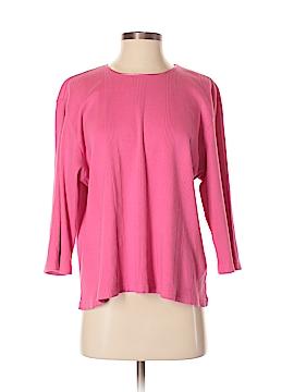 Liz Claiborne 3/4 Sleeve T-Shirt Size 2 (Petite)