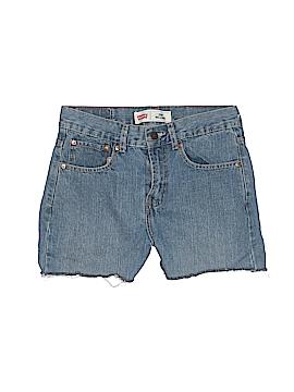 Levi's Denim Shorts Size 18 (Slim)
