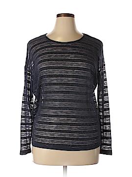 Bobeau Long Sleeve Blouse Size L