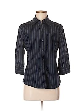 Converse 3/4 Sleeve Button-Down Shirt Size S