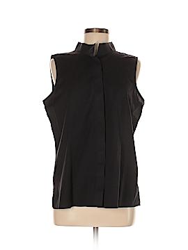 Talbots Sleeveless Button-Down Shirt Size L