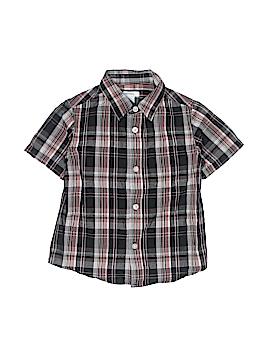 Greendog Short Sleeve Button-Down Shirt Size 4T