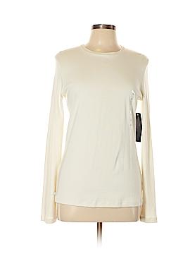 Jones New York Signature Long Sleeve T-Shirt Size L