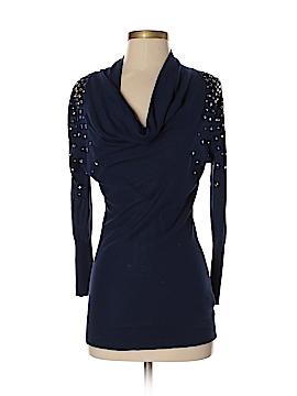 Halston Heritage Silk Pullover Sweater Size XS