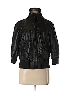 Buffalo Faux Leather Jacket Size M