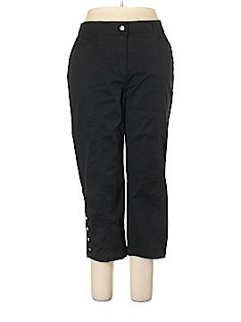 JM Collection Khakis Size 14