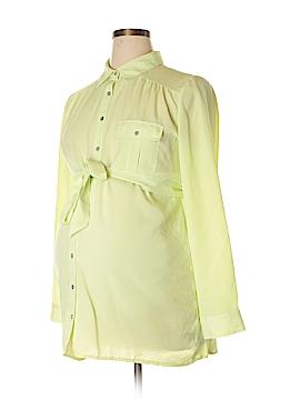 Jessica Simpson Maternity Long Sleeve Blouse Size L (Maternity)