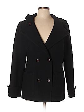 Eddie Bauer Wool Coat Size L