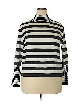 Joan Vass Turtleneck Sweater Size 1X (Plus)