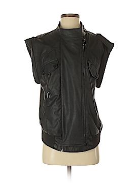 Uniq Faux Leather Jacket Size Sm - Med