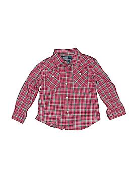 Polo by Ralph Lauren Long Sleeve Button-Down Shirt Size 12 mo