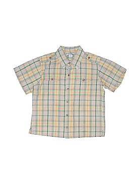 Hartstrings Short Sleeve Button-Down Shirt Size 5