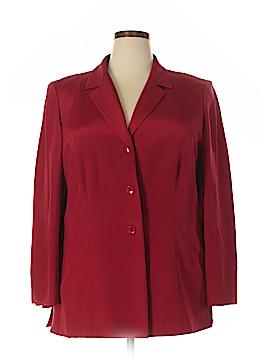 INC International Concepts Silk Blazer Size 16