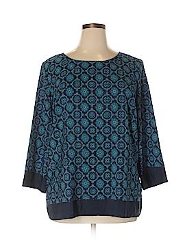 Ann Taylor LOFT Outlet 3/4 Sleeve Top Size XL