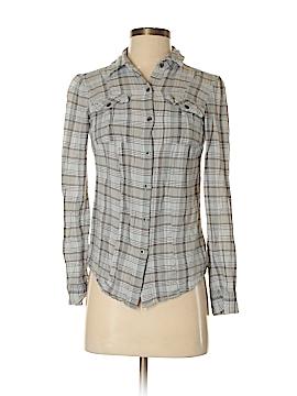 Ruff Hewn Long Sleeve Button-Down Shirt Size XS