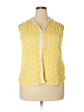 Lucky Brand Sleeveless Top Size 1X (Plus)