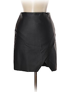 Club Monaco Faux Leather Skirt Size 00