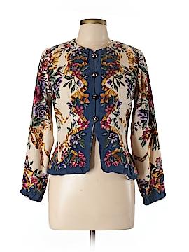 Maggy London Silk Blazer Size 10