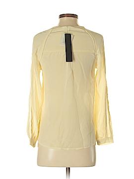 Aryn K. Long Sleeve Silk Top Size XS