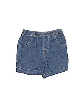 Okie Dokie Denim Shorts Size 3-6 mo
