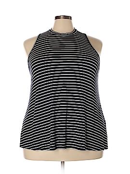 Maurices Sleeveless T-Shirt Size 24 (3) (Plus)