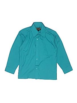 Vangogh Long Sleeve Button-Down Shirt Size 7
