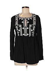 Neiman Marcus Women Long Sleeve Blouse Size S