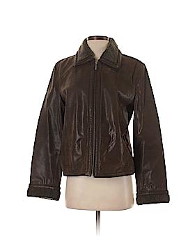Moda International Leather Jacket Size S