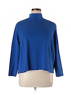 Karen Scott Sport Long Sleeve Turtleneck Size 1X (Plus)