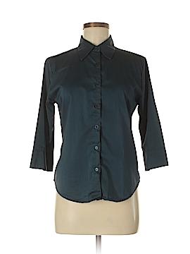 Ellemenno 3/4 Sleeve Button-Down Shirt Size M