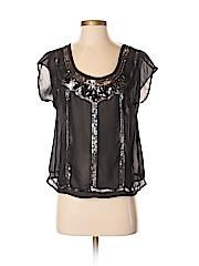Decree Women Short Sleeve Blouse Size S