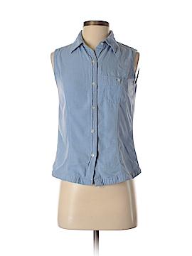 Eddie Bauer Sleeveless Button-Down Shirt Size XS