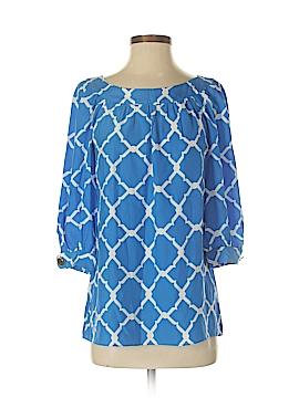 Alice & Trixie 3/4 Sleeve Silk Top Size S