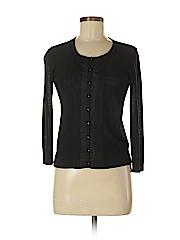 DKNY Women Silk Cardigan Size P